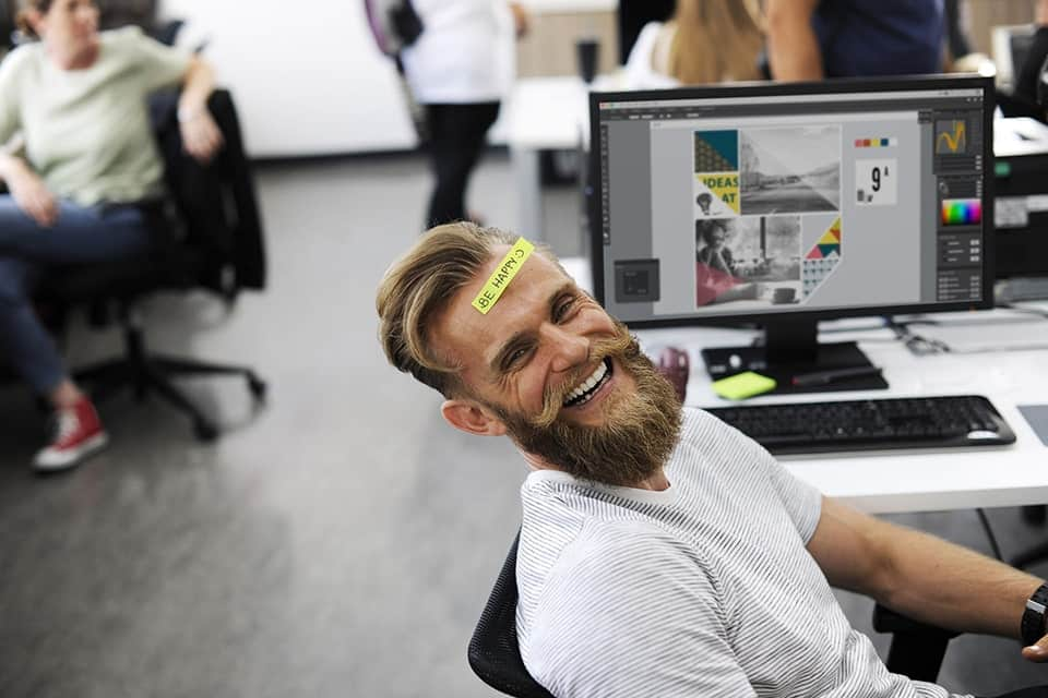 Homme qui rit